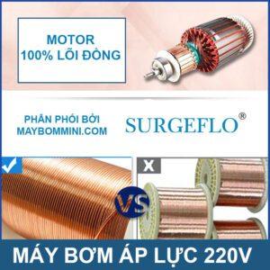 SURGEFLO Motor Loi Dong Cao Cap