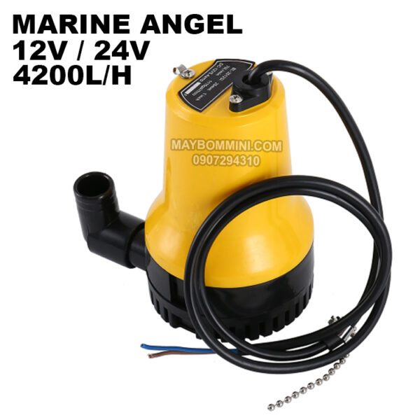 Submersible Pump Marine Angel 12v 24v