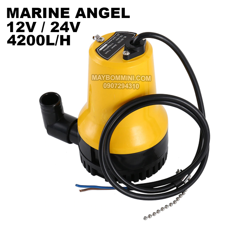 Submersible Pump Marine Angel 12v 24v