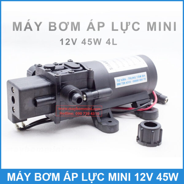 Bom Nuoc Mini 12v 45w Smartpumps