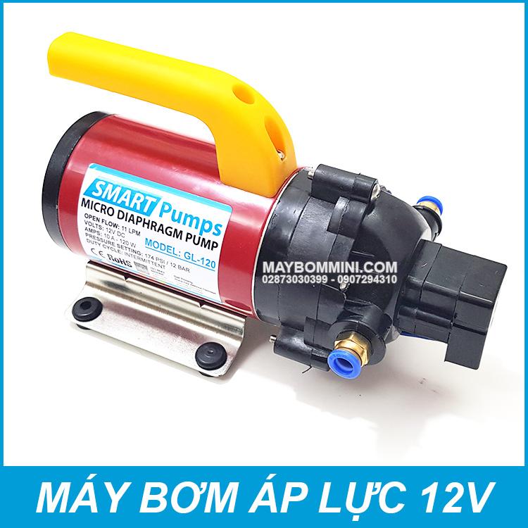Bom Nuoc Mini Ap Luc 12V 120W GL120