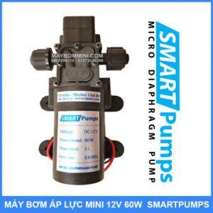 Bom Nuoc Mini Ap Luc 12v 60w 5L