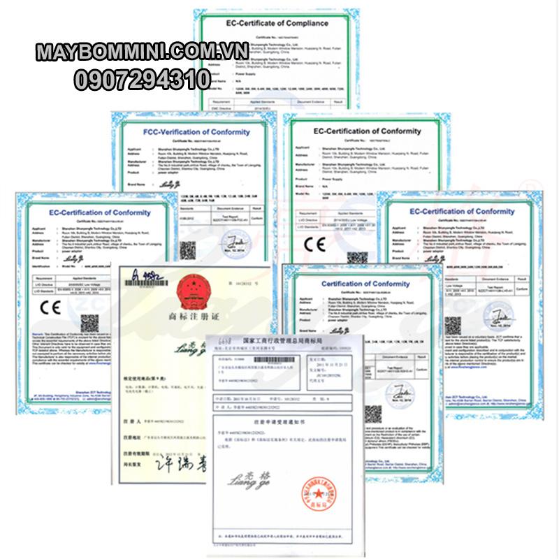 Chung Nhan Adapter 12v 24v