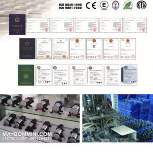 Chung Nhan Chat Luong May Bom Mini 12V Smartpumps