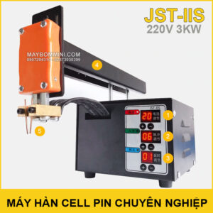 Chuyen Ban May Han Cel Pin Chuyen Nghiep 220V 3KW JST IIS