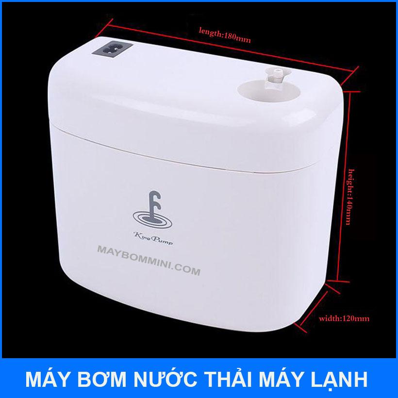 Kich Thuoc May Bom Nuoc Thai May Lanh Kingpump HIPPO 2