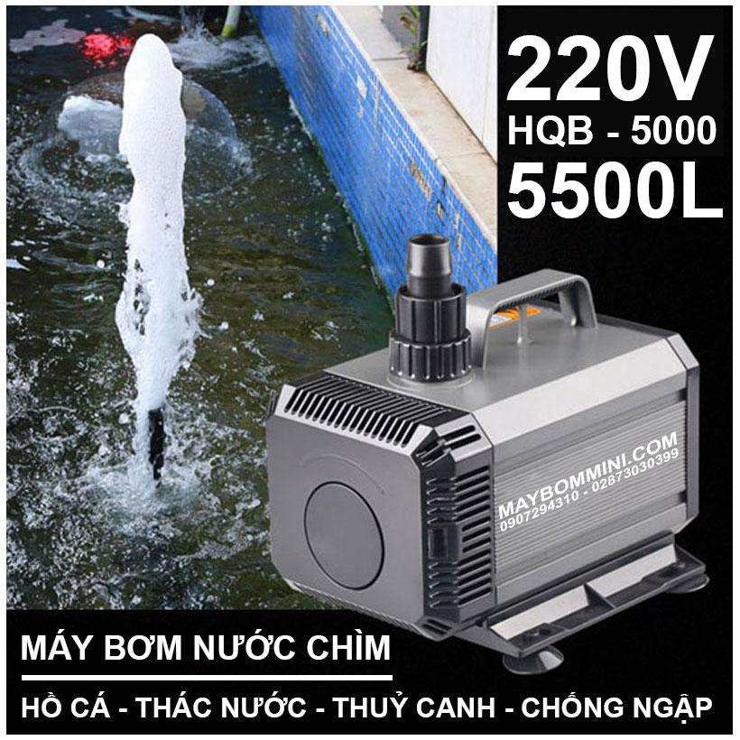 Lazada Bom Nuoc Ho Ca Thac Nuoc 220V HQB 5000