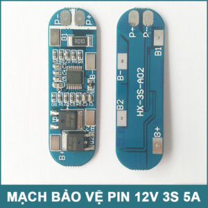Mach Bao Ve Pin 12v 3s 5a