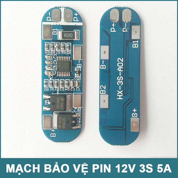 Mach Bao Ve Pin 12v 3s 5a