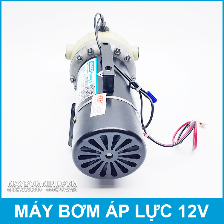 May Bom Ap Luc Cao Mini 12v Gia Re Chat Luong Tot