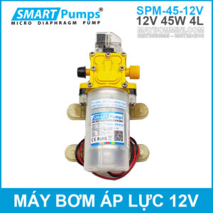 May Bom Ap Luc Mini 12v 45w 4l Smartpumps