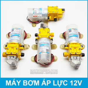 May Bom Ap Luc Mini 12v 45w Smartpumps Gia Re