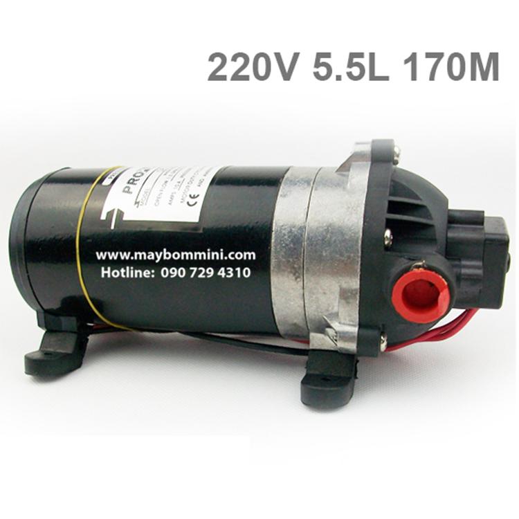 May Bom Ap Luc Mini 220v 170m