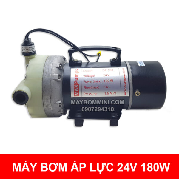 May Bom Ap Luc Mini 24v 180w