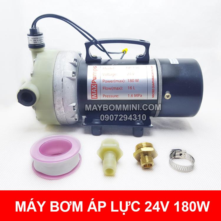 May Bom Ap Luc Mini 24v