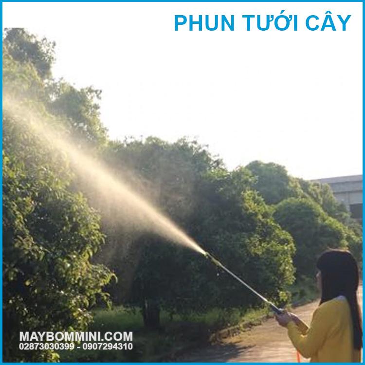 May Bom Ap Luc Phun Tuoi Cay