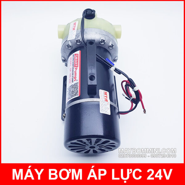 May Bom Ap Luc Tu Dong 24v