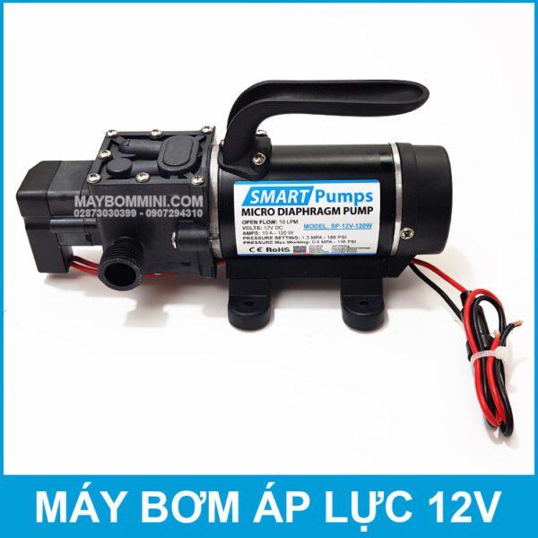 May Bom Mini 12V 120W 10L Smartpumps