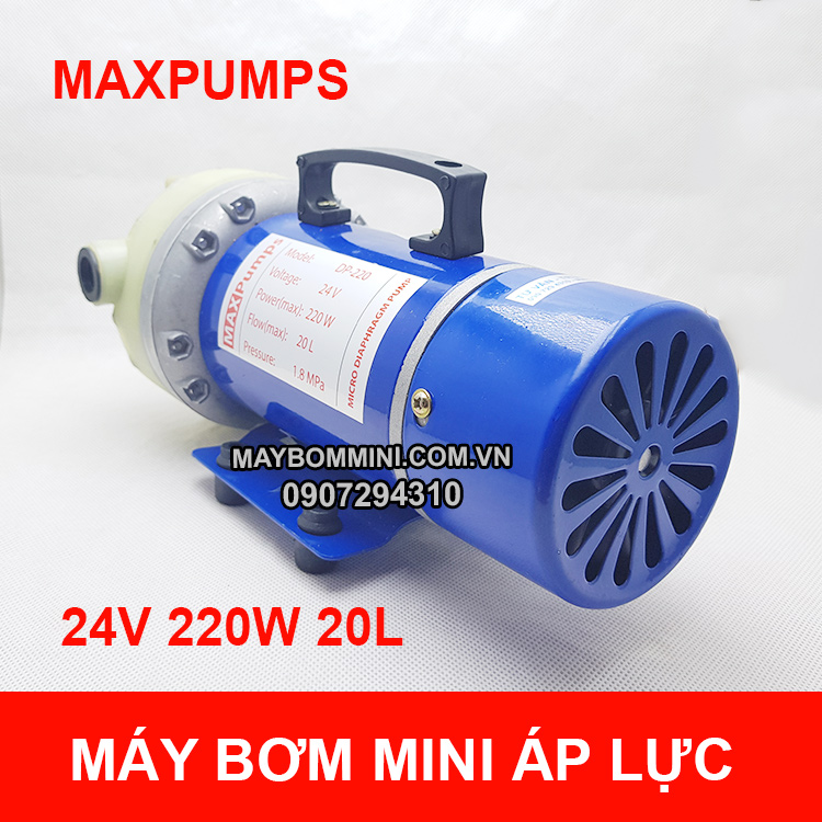 May Bom Mini 12v 220w 18l