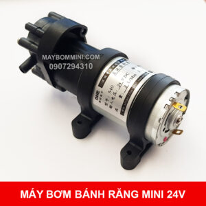 May Bom Mini Banh Rang 24v