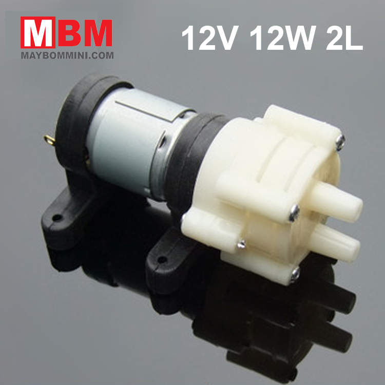 May Bom Mini Nhat 12v