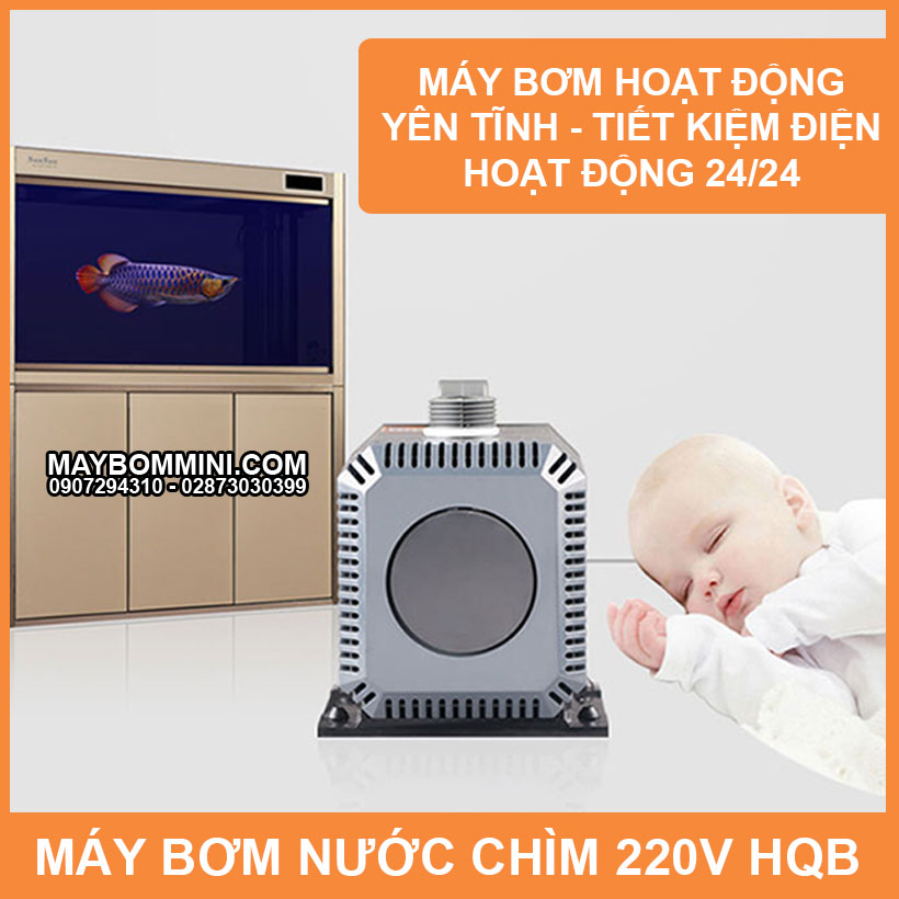 May Bom Nuoc Chay Lien Tuc