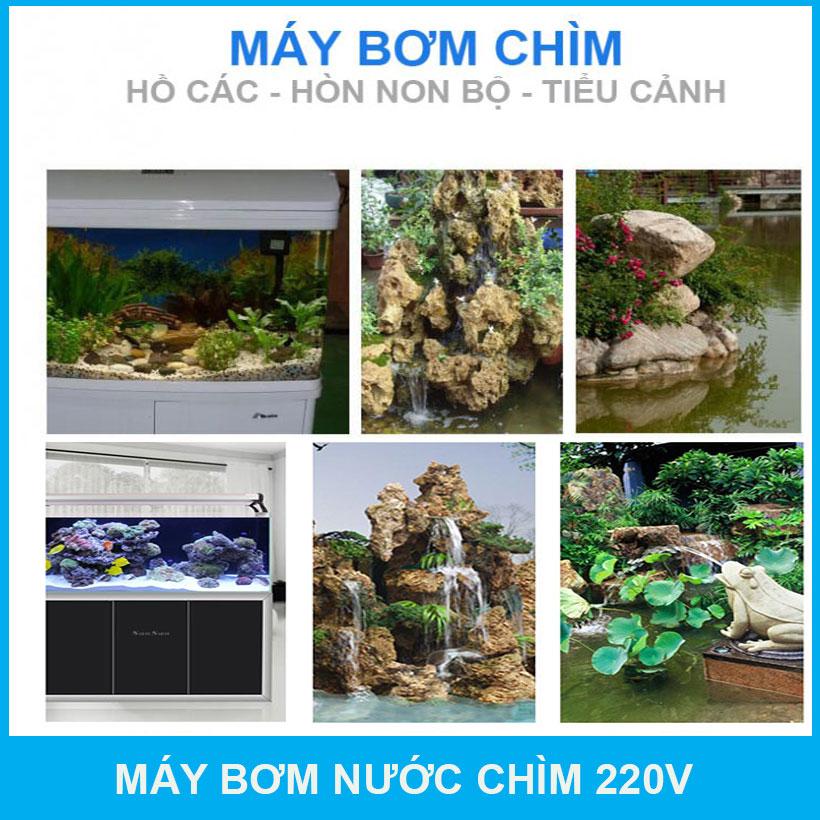 May Bom Nuoc Hon Non Bo Ho Ca