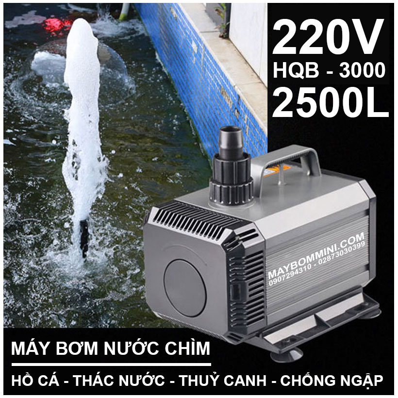 May Bom Nuoc Thuy Canh 220V HQB 3000
