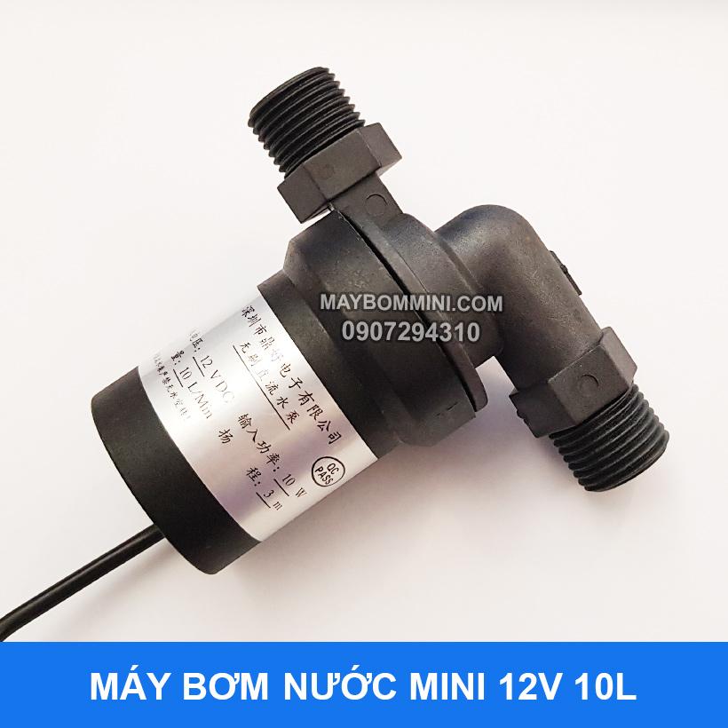 May Bom Tro Luc Nong Lanh 12v