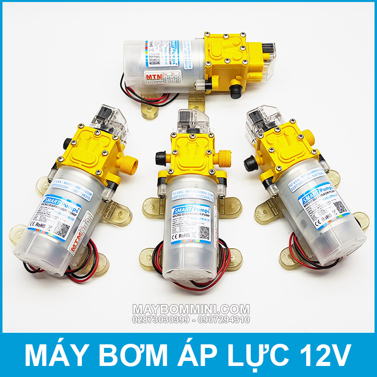 May Bom Tu Dong Mini 12v