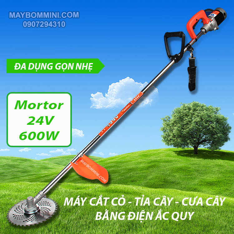 May Cat Co Dung Binh Ac Quy