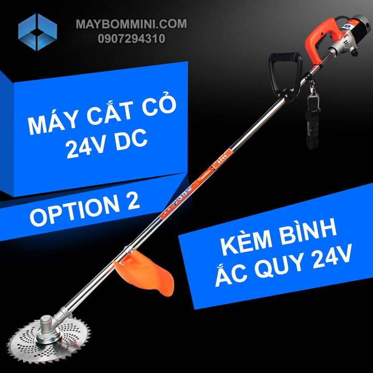 May Cat Co Dung Binh Ac Quy 24V Option 2