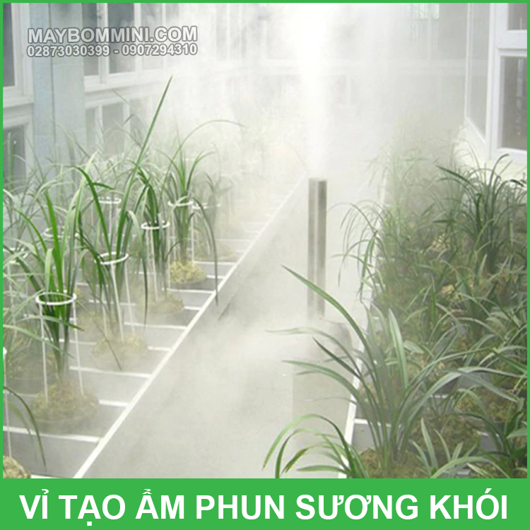 May Phun Suong Tao Am Nha Vuon