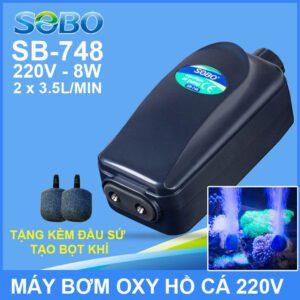 May Tao Oxy Ho Ca Be Ca 220v SB 748 SOBO Lazada