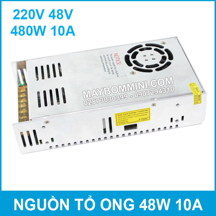 Nguon To Ong 48V 10A 480W