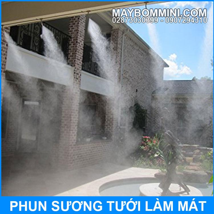 Phun Suong Tuoi Lam Mat