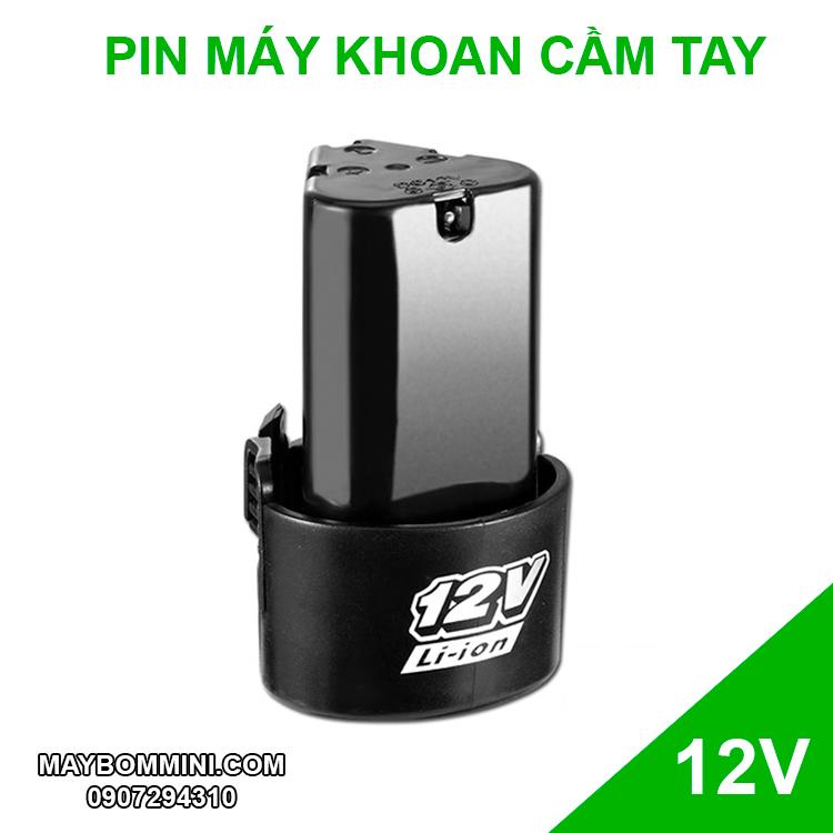 Pin May Khoan Cam Tay 12v
