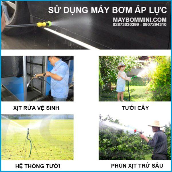 Su Dung May Bom Ap Luc 12V 180W