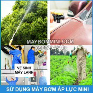 Su Dung May Bom Ap Luc Mini