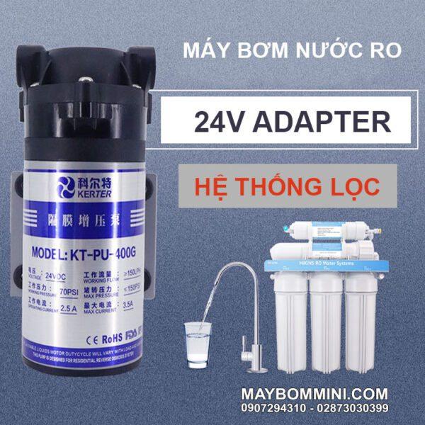 Su Dung May Bom Nuoc RO