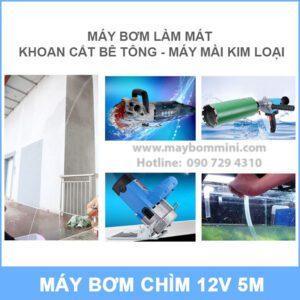 Su Dung May Bom Nuoc Chim 12v