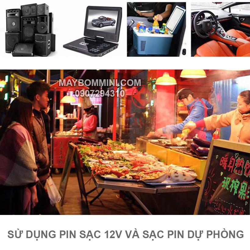 Su Dung Pin Sac 12v Du Phong