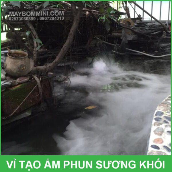 Su Dung Vi Tao Am Phun Suong Khoi