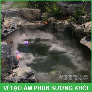 Tao Khoi Ho Ca Thac Nuoc Hon Non Bo