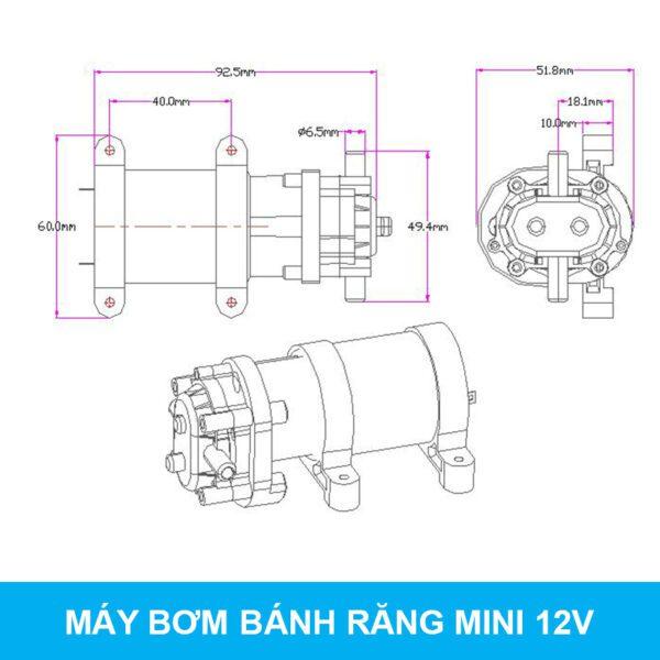 Thong So May Bom Banh Rang 550