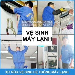 Xit Rua Ve Sinh He Thong May Lanh