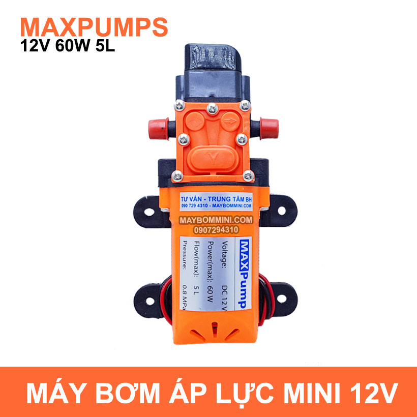 May Bom Mini 12V 60W 2018