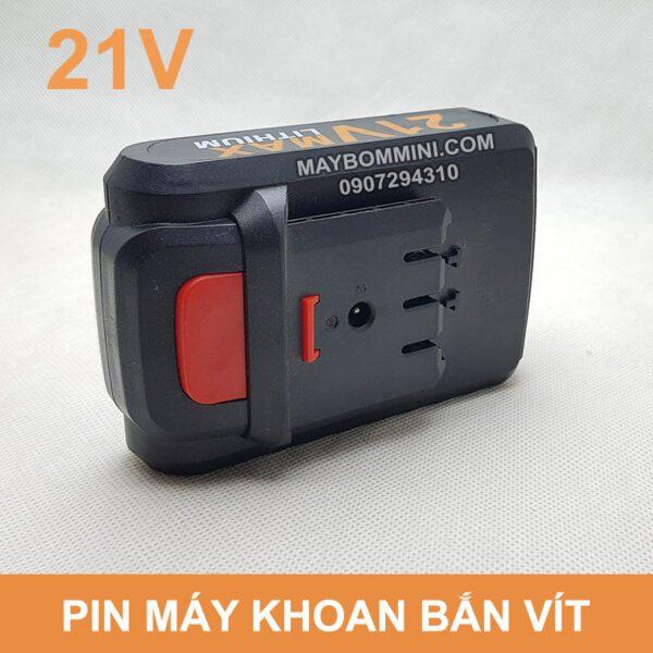 Pin 21v May Khoan Sung Ban Vit