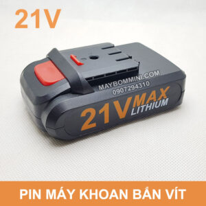 Pin May Khoan 21v