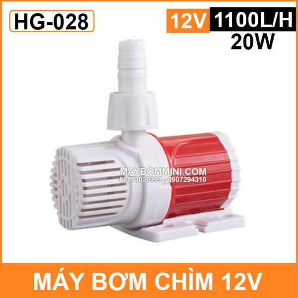May Bom Chim Ho Ca Mini 12v 20W HG 028